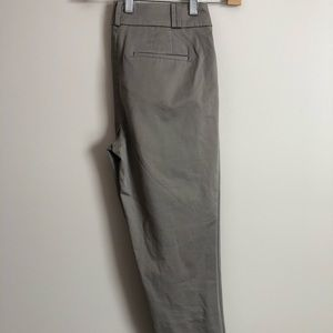 LOFT Julie Gray Crop Pants